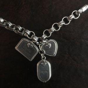 Brighton Jewelry - Brighton 3 charm Necklace SWEET IMAGINE..